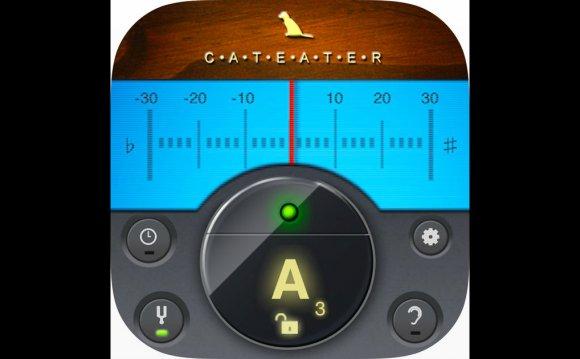 Электронный камертон в App