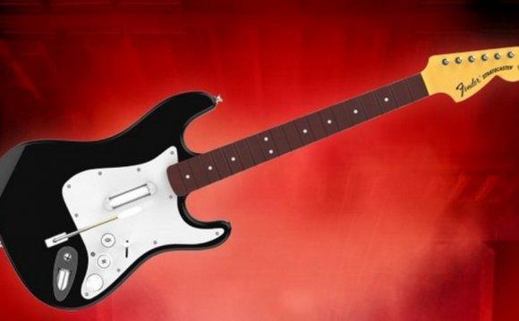 Гитара для Rock Band 4 теперь