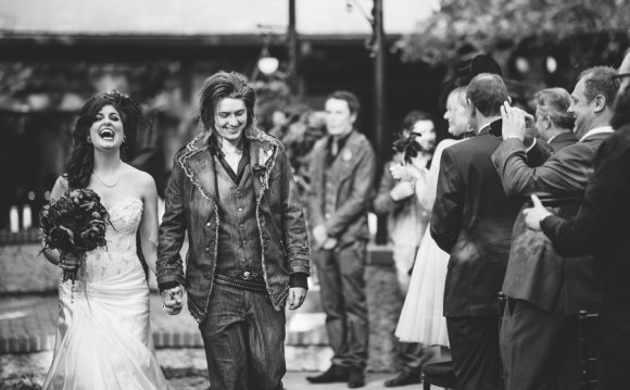 Рок свадьба (свадьба
