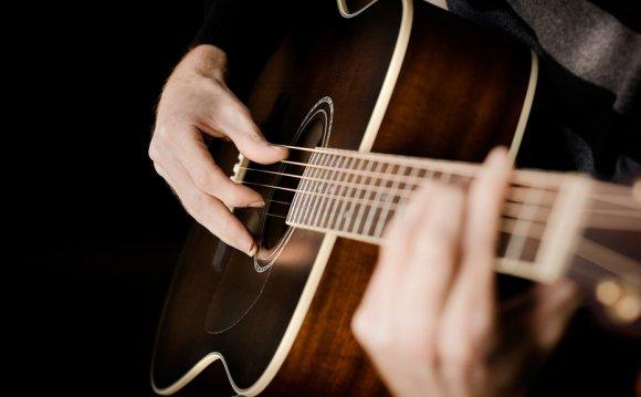 на классической гитаре