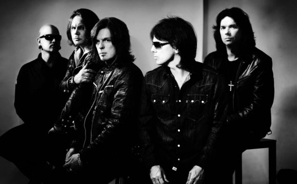 Шведская рок-группа «Europe» и