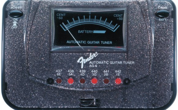 Тюнер для электрогитары Fender